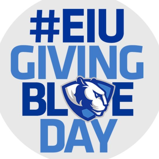 EIU Athletics Giving Blue Day