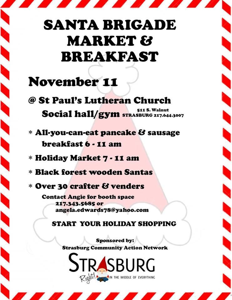 Santa Brigade Market & Breakfast
