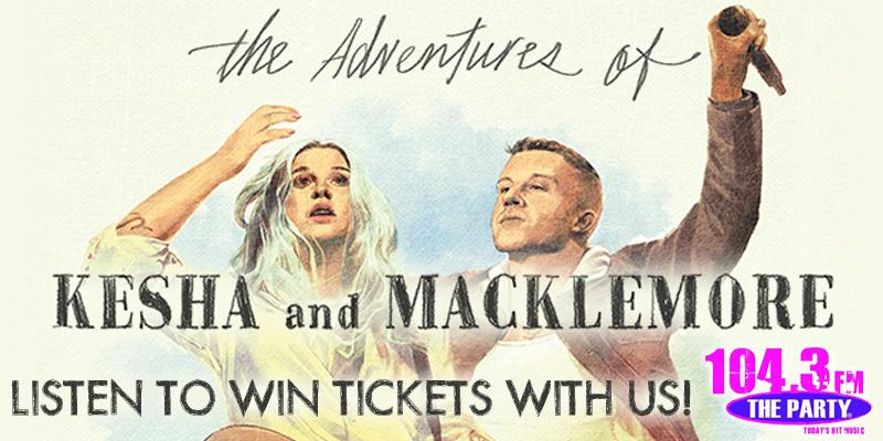 Kesha and Macklemore - Ticket Giveaway