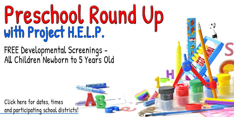 Preschool Round Up - Developmental Screenings