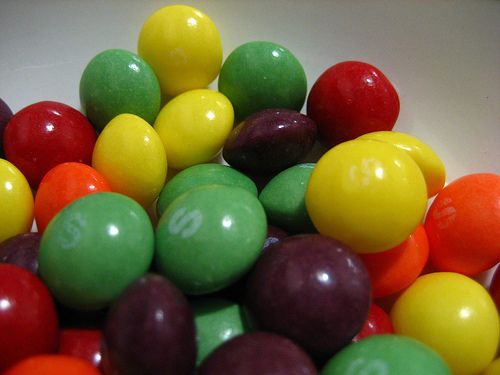 Would You Want Skittles Without Their Shells?