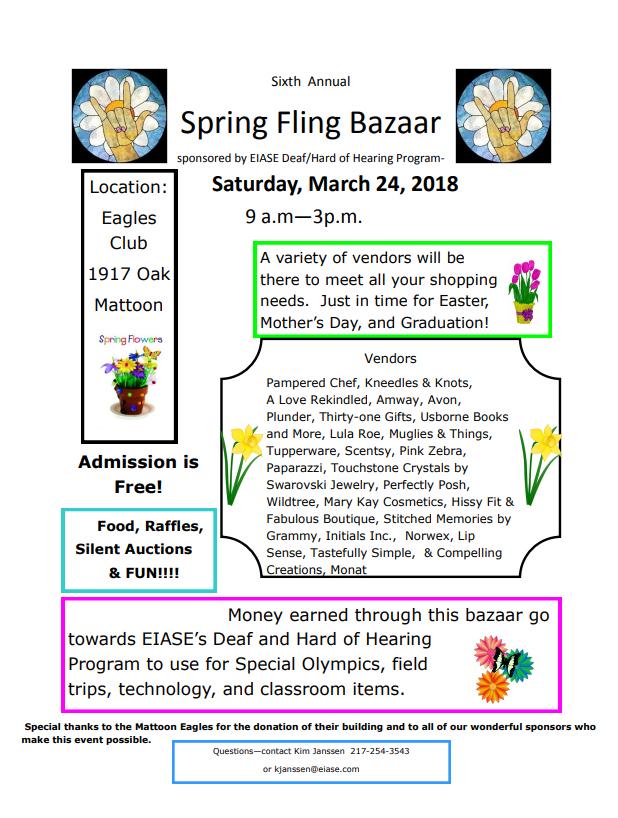Annual Spring Fling Bazaar