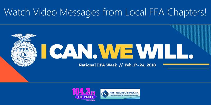 FFA Week Video Messages