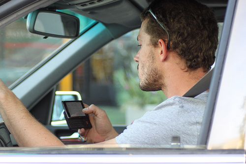 The Number of People Using Cell Phones While They Drive Is Up 46% Since 2013
