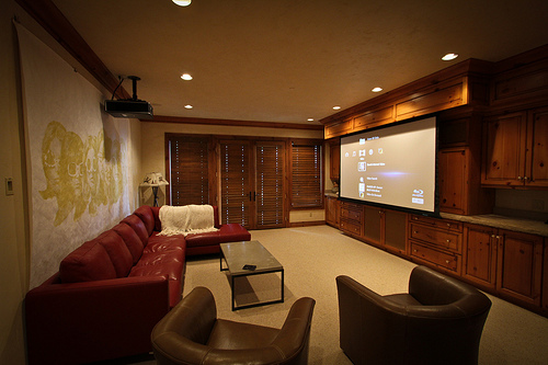 The Perfect 'Man-Cave' Has Multiple TVs, Plenty of Beer, and Wives Aren't Allowed