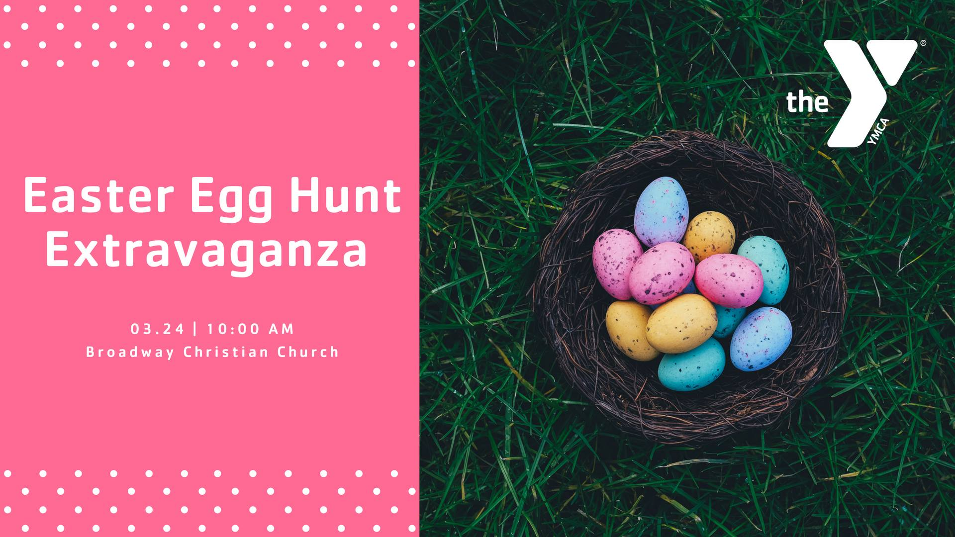 YMCA Annual Easter Egg Hunt Extravaganza
