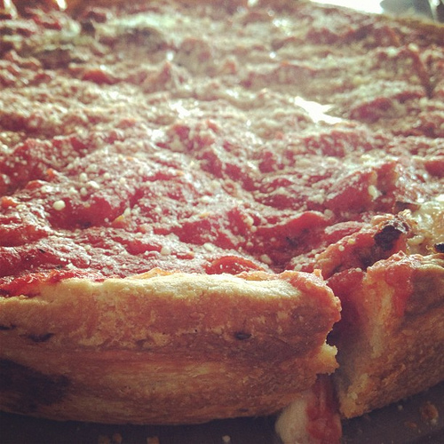 It's National Deep Dish Pizza Day . . . Have You Ever Fought Someone Over Whether It's Better Than Thin Crust?