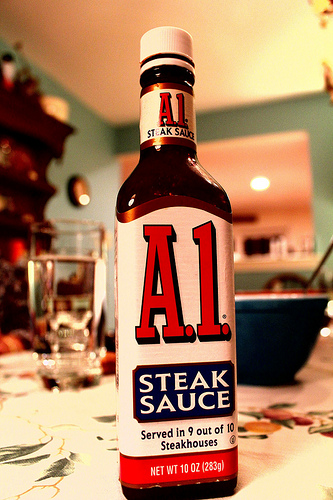 A.1. Steak Sauce Is Selling Meat-Scented Candles, Just in Time For Father's Day