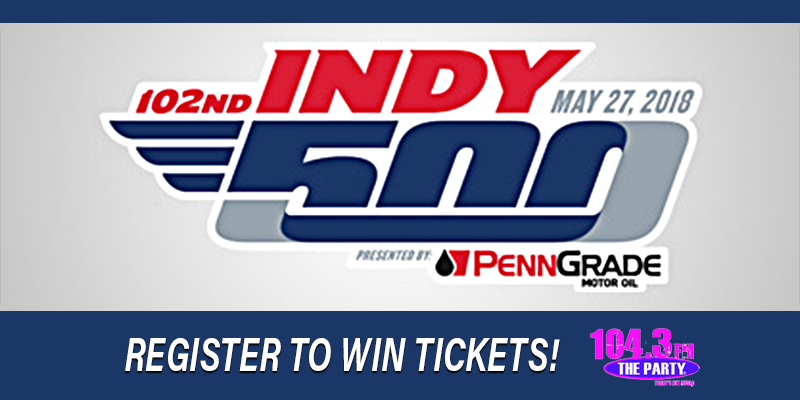 Indy 500 - Register to Win Tickets!