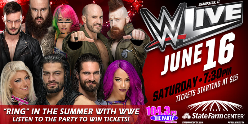"""""""Ring in the Summer with WWE - Listen to Win Tickets!"""