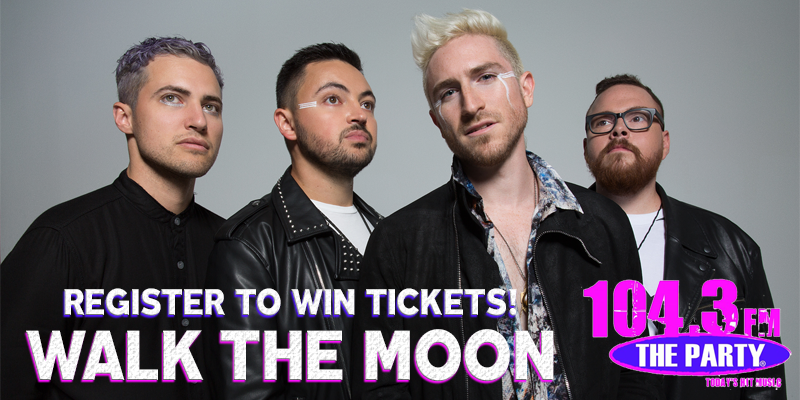 Register to Win Walk the Moon Tickets!
