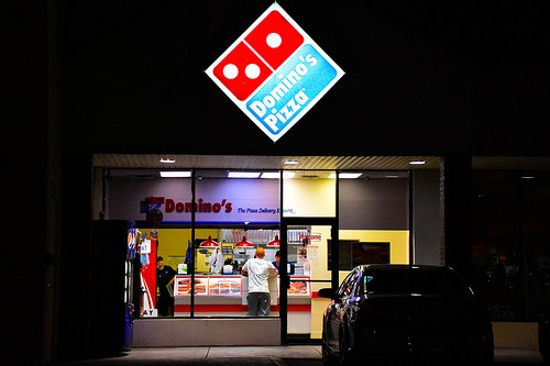 Domino's Pizza Is Now Driving Around the Country Fixing Potholes?