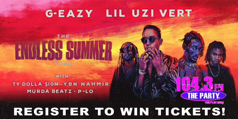 Register to Win G-Eazy Tickets!