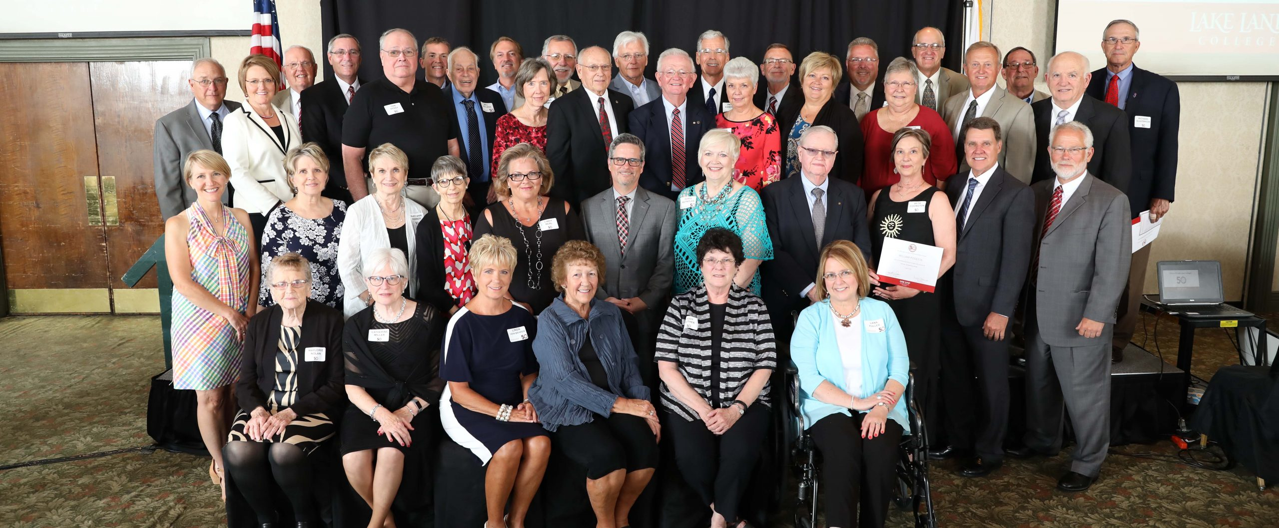 Lake Land College Foundation Honors Top 50 VIPs at celebration