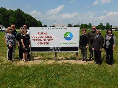 Rural Development Technology Center/Effingham Regional Career Academy Sign In Place