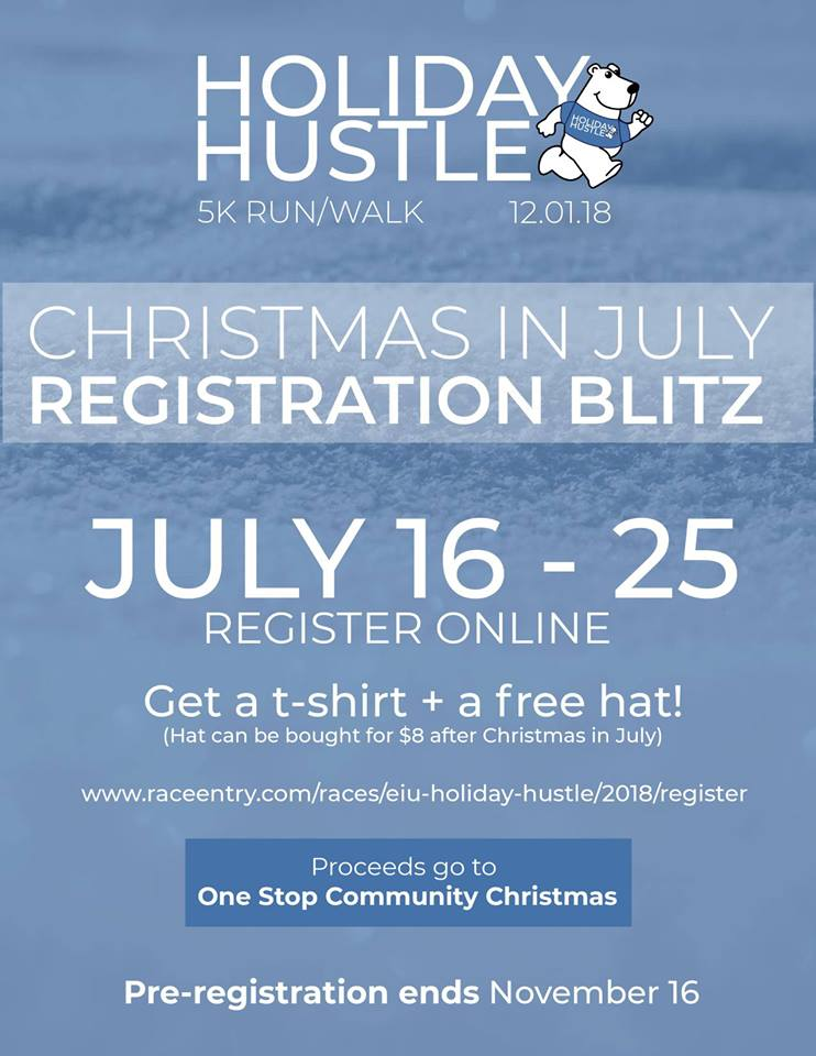 Early Registration Coming for EIU Holiday Hustle