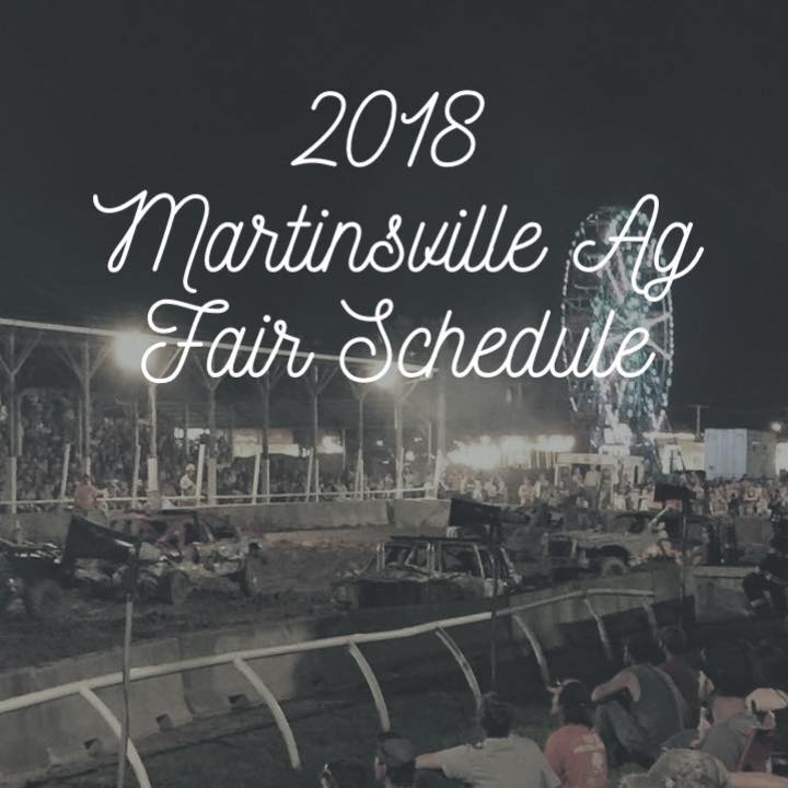 Martinsville Ag Fair Schedule Change for Today (Tuesday, June 12)