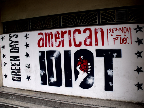 """Green Day's """"American Idiot"""" Makes Its Way Back To The Charts"""