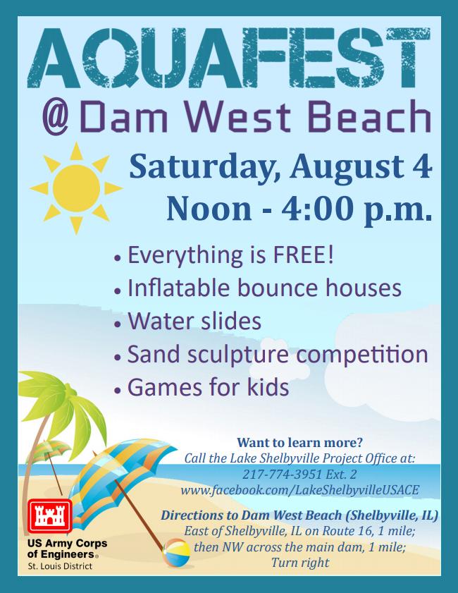 Aquafest at Dam West Beach