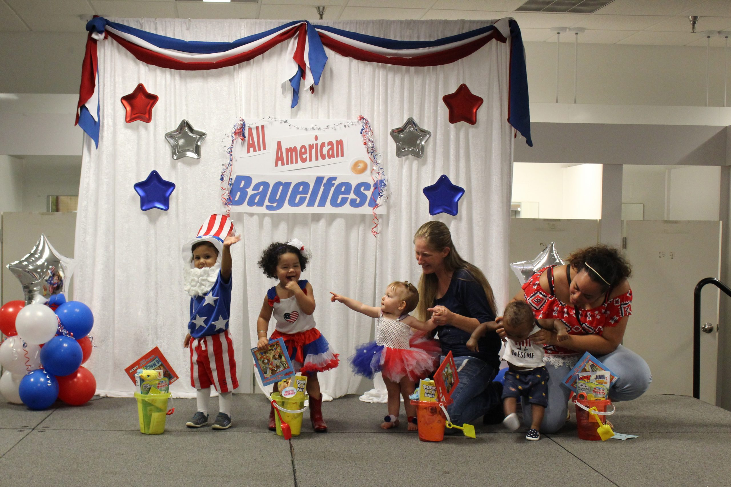 Bagelfest Beautiful Baby Contest – First Night Winners