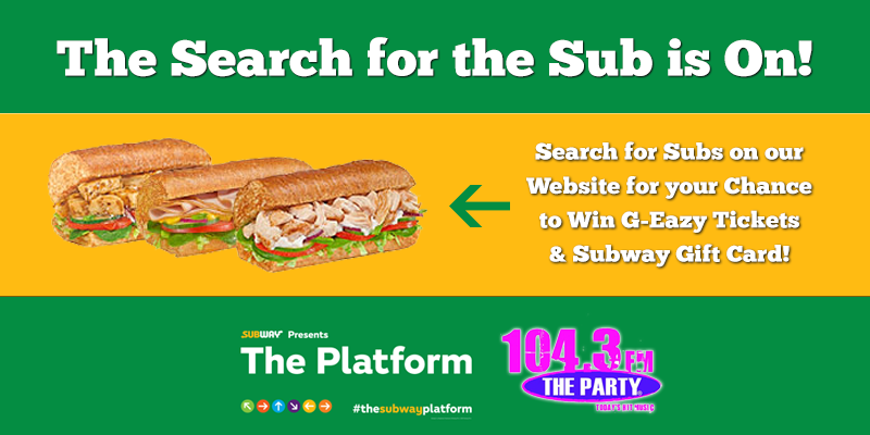 Search for the Sub - G-Eazy Tickets