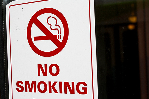Smoking Is Banned In Public Housing