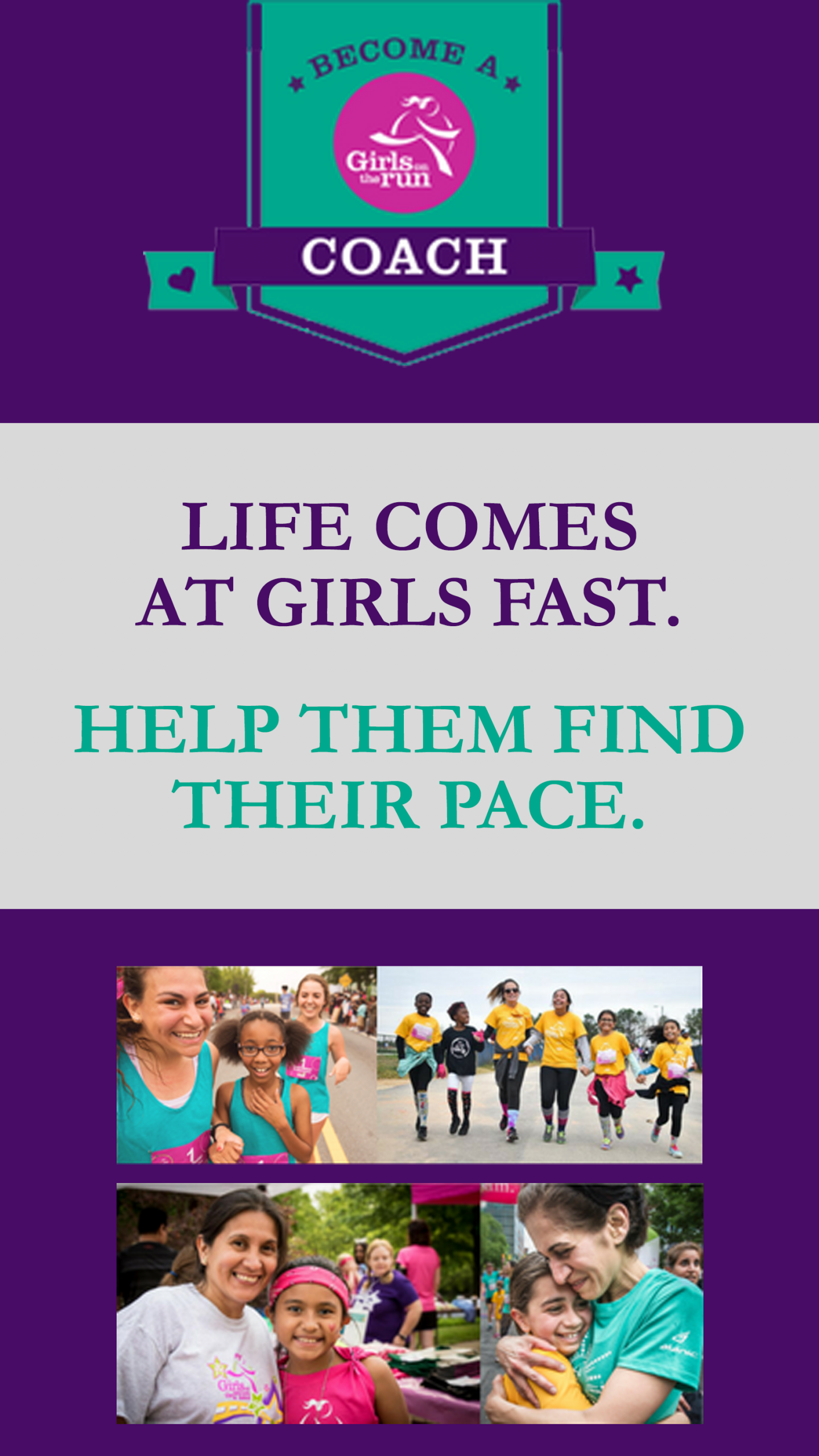 Girls on the Run Looking for Coaches