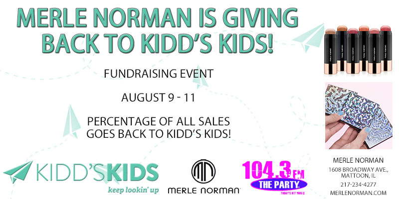 Merle Norman Fundraising Event for Kidd's Kids