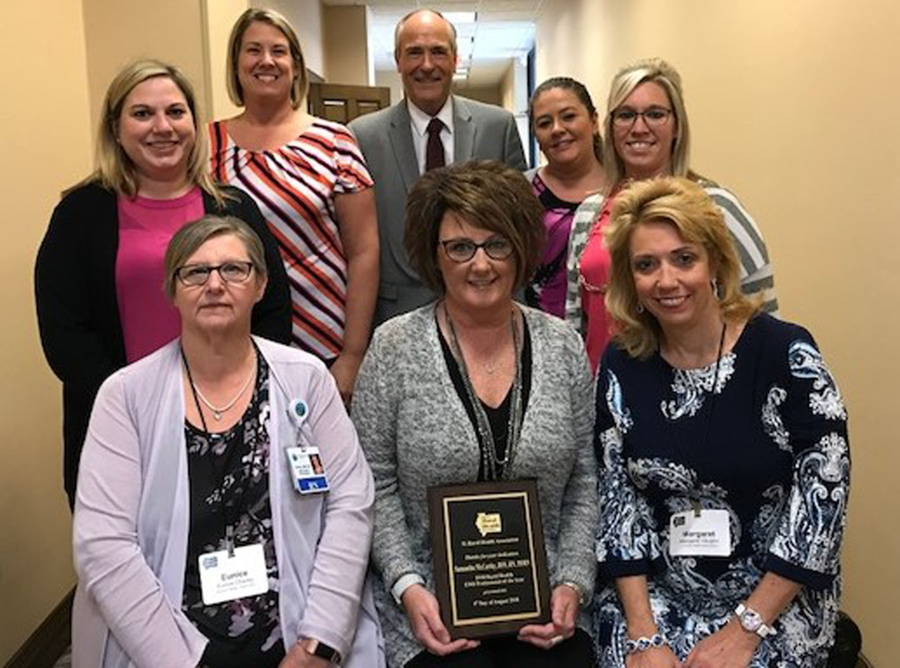 Horizon Health Employee Receives State Award