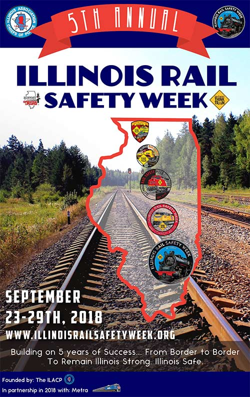 Illinois State Police to Participate in Rail Safety Initiative