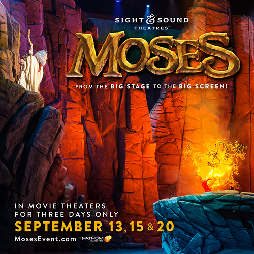 MOSES Movie Pass Giveaway