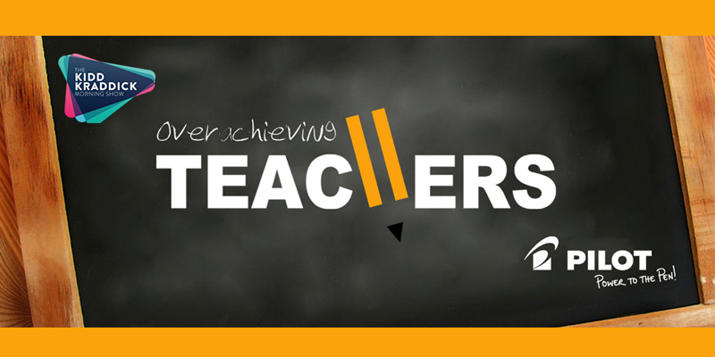 Feature: https://www.1043theparty.com/2018/09/19/overachieving-teachers/