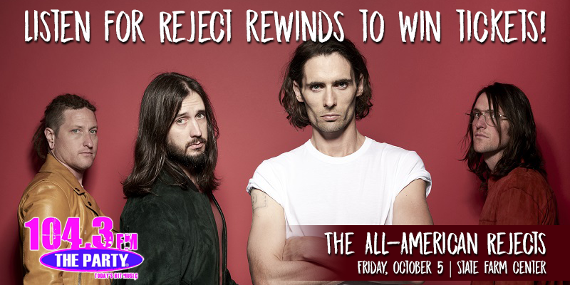 """Win All-American Rejects Tickets with """"Reject Rewinds"""""""