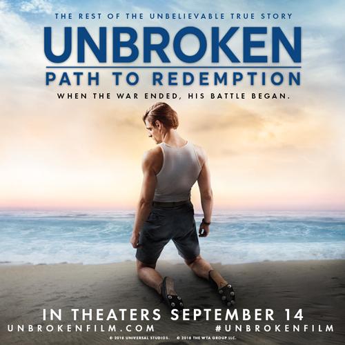 Unbroken: Path to Redemption Ticket Giveaway