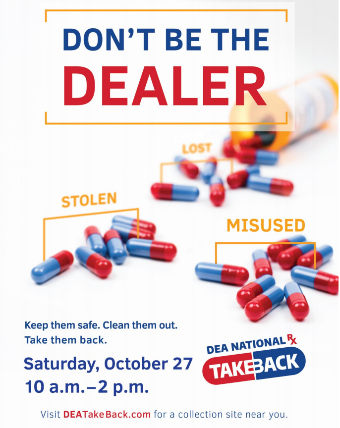 National Prescription Drug Take Back Day is Saturday