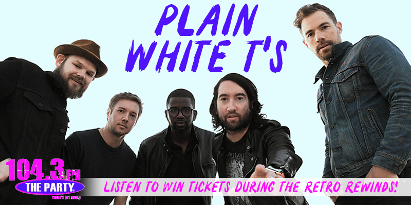 Listen to Win Plain White T's Tickets!