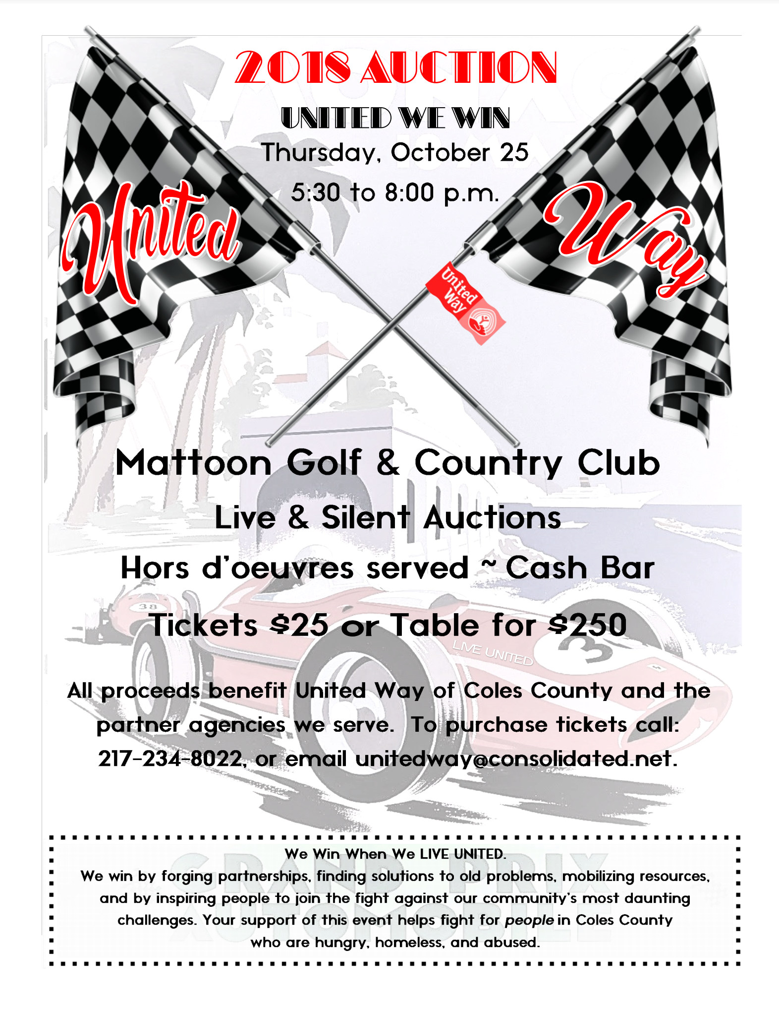 United Way of Coles County Auction
