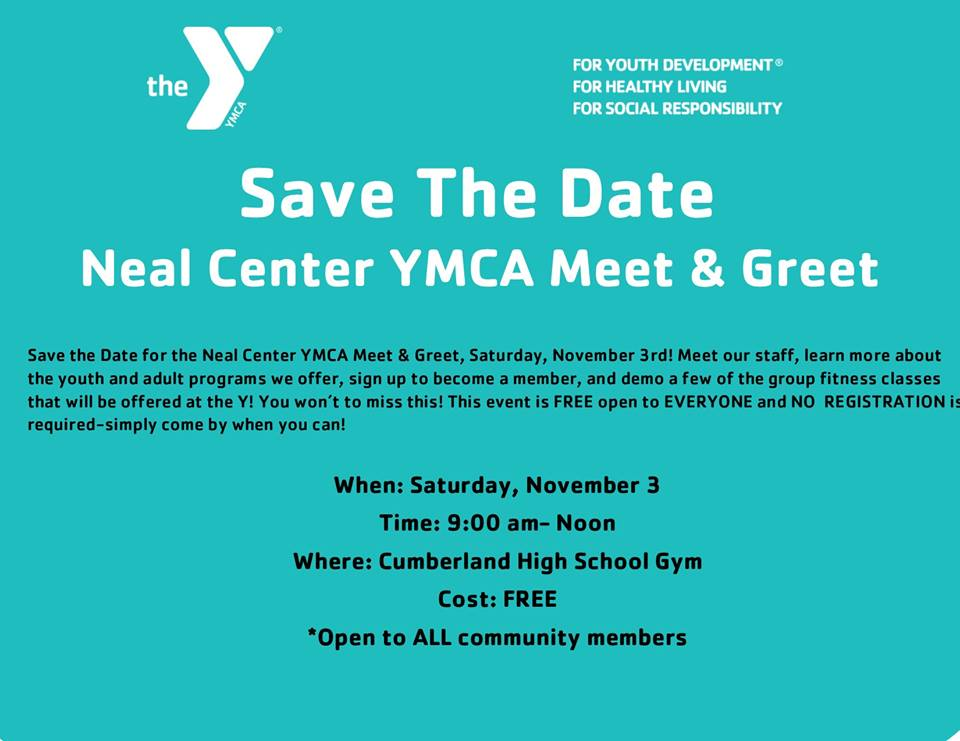 Neal Center YMCA Hosting a Meet and Greet