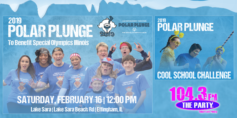 Feature: https://www.1043theparty.com/2018/11/13/2019-polar-plunge-cool-school-challenge/