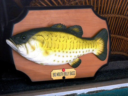 A New Version of Big Mouth Billy Bass is on Sale . . . and It's Powered by Amazon's Alexa