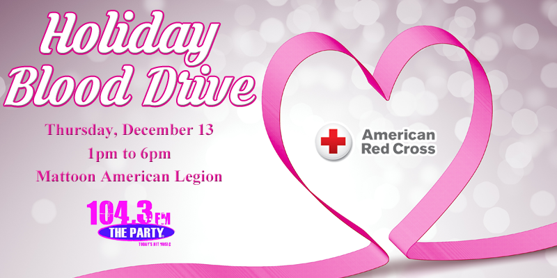 Holiday Blood Drive 2018