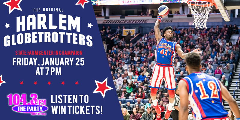 Listen to Win Tickets to The Harlem Globetrotters!