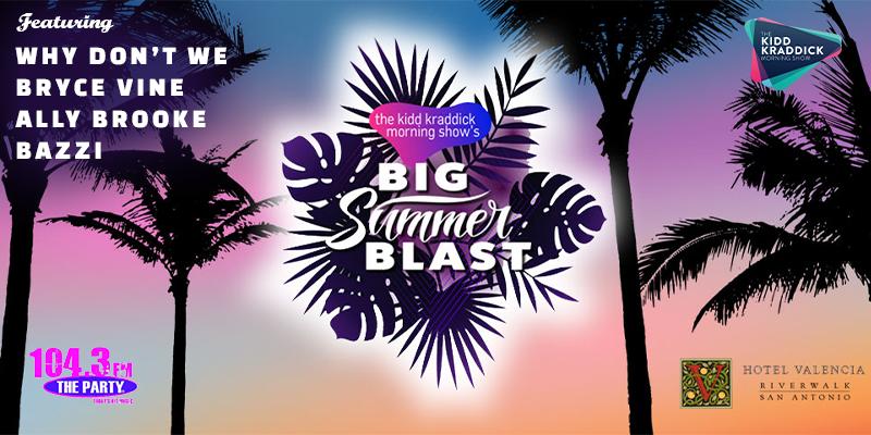 Win a trip to the Kidd Kraddick Morning Show's Big Summer