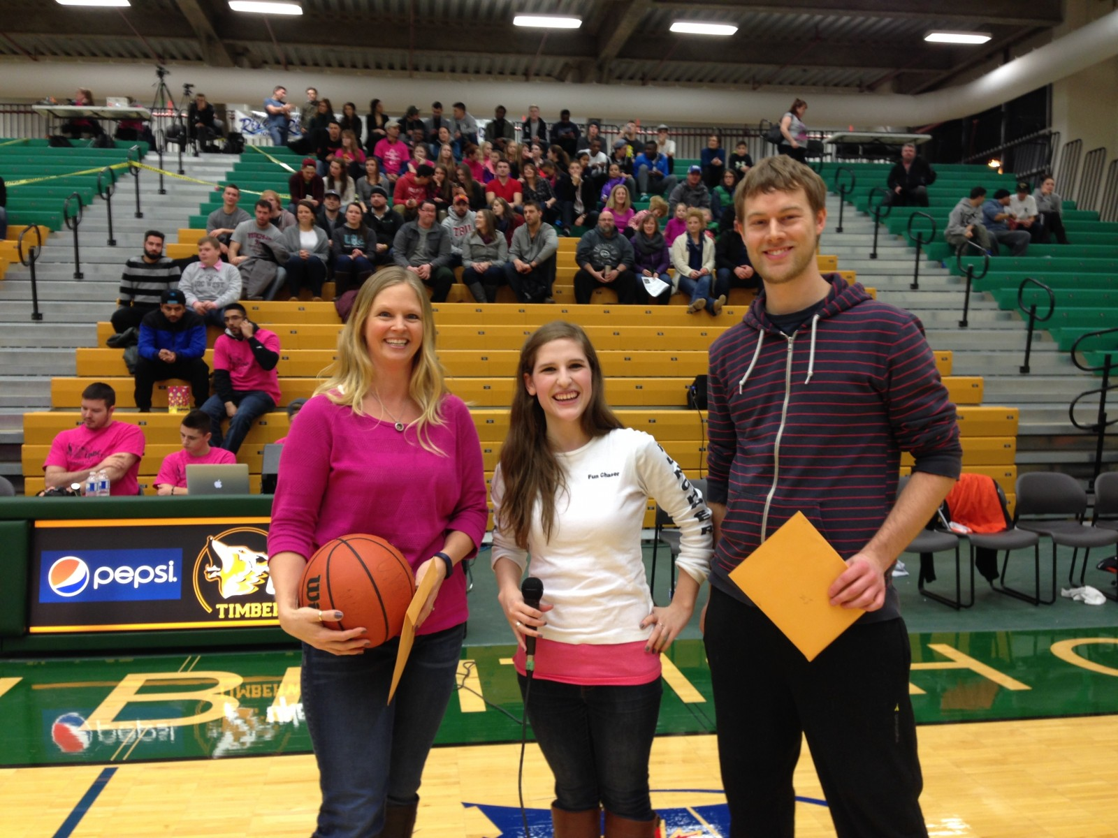 FunChaser @ Shoot For The Cure UNBC TimberWolves