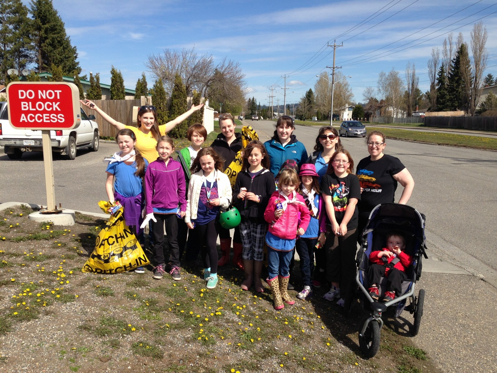 FunChaser & Crew @ Spring Clean Up with Tim Hortons