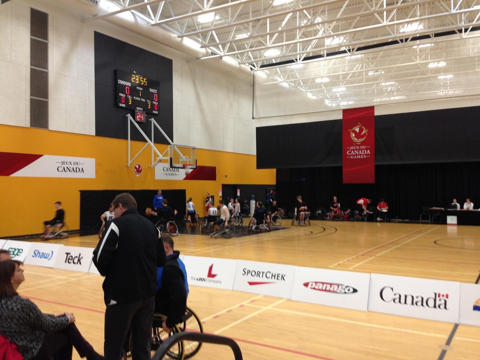 FunChaser @ WheelChair Basketball
