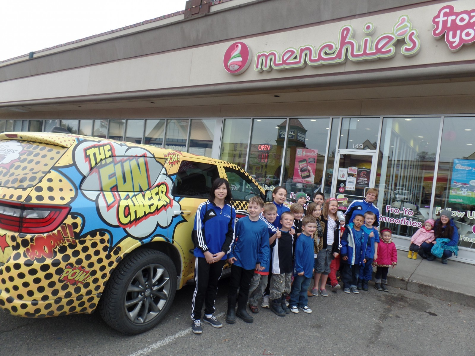 FunChaser @ Menchie's and the Prince George Judo Club