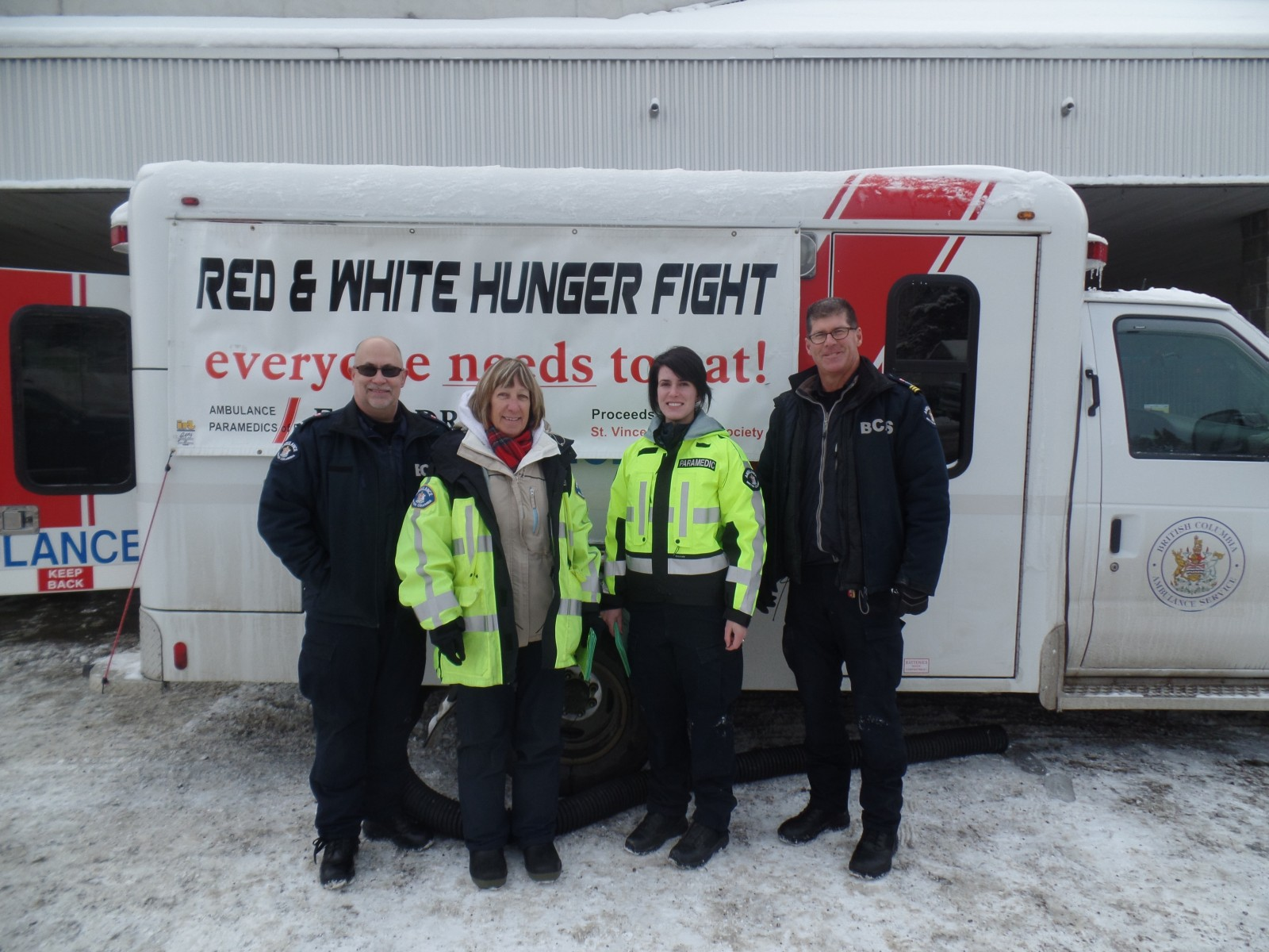 FunChaser @ BC Ambulance Society Red and White Hunger Fight