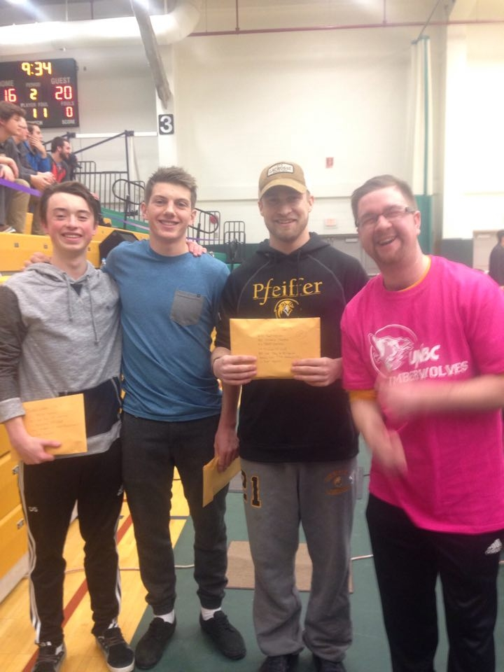 FunChaser @ UNBC Timberwolves Shoot For The Cure