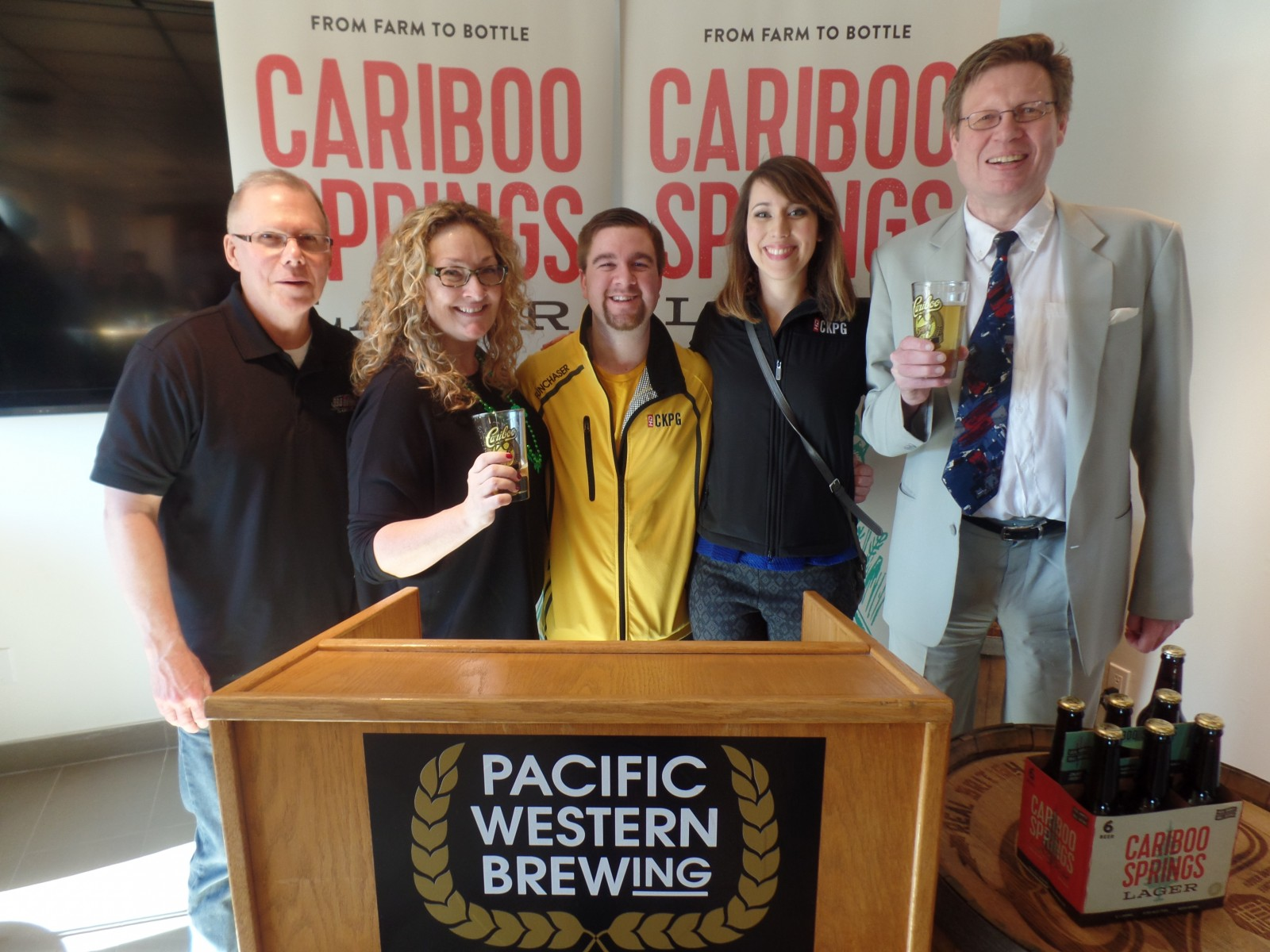 FunChaser @ Pacific Western Brewing - Cariboo Springs Launch
